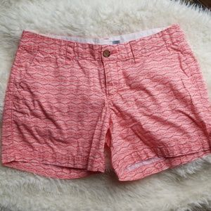 Old Navy Salmon Coral Mid Ride Short